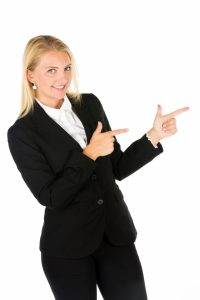 business-woman-pointing